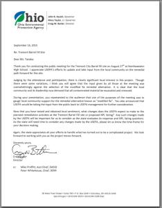 Butler letter to USEPA thumbnail