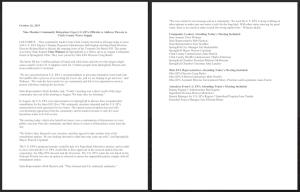 Widener press release