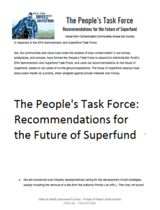 People's task force memo thumbnail