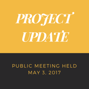 Project Update May 2017 (2)