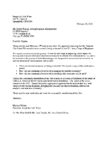 Letter to Kaplan 2.26.16
